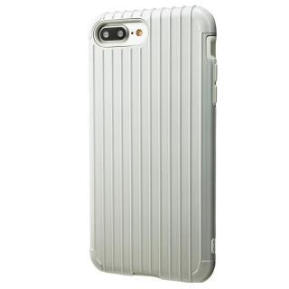 GRAMAS COLORS Rib ハイブリッドケース ホワイト iPhone 7 Plus