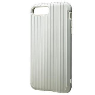 【iPhone8 Plus/7 Plusケース】GRAMAS COLORS Rib ハイブリッドケース ホワイト iPhone 8 Plus/7 Plus_1