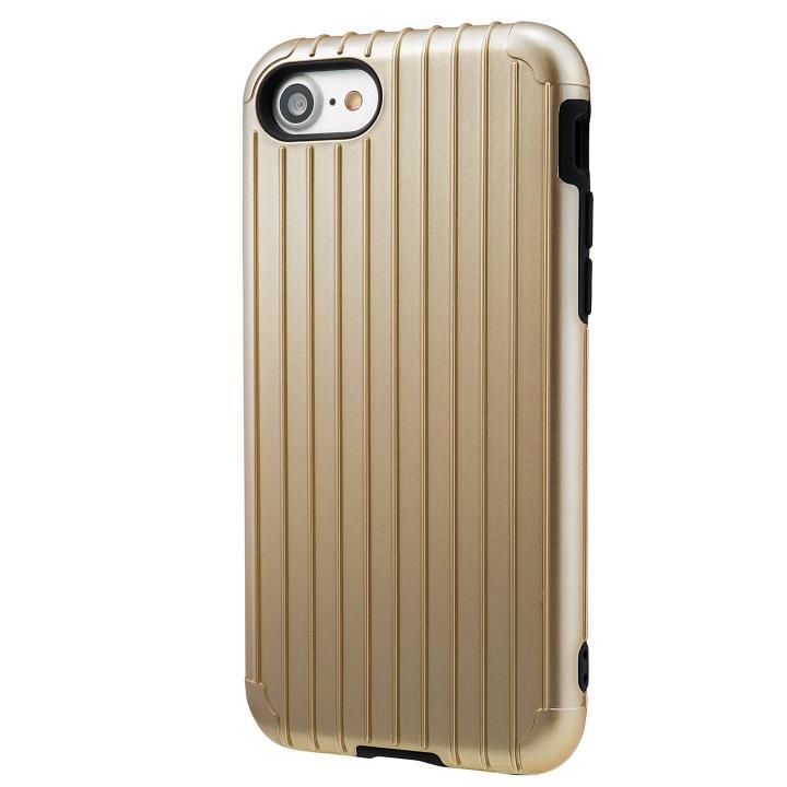 【iPhone8/7ケース】GRAMAS COLORS Rib ハイブリッドケース ゴールド iPhone 8/7_0