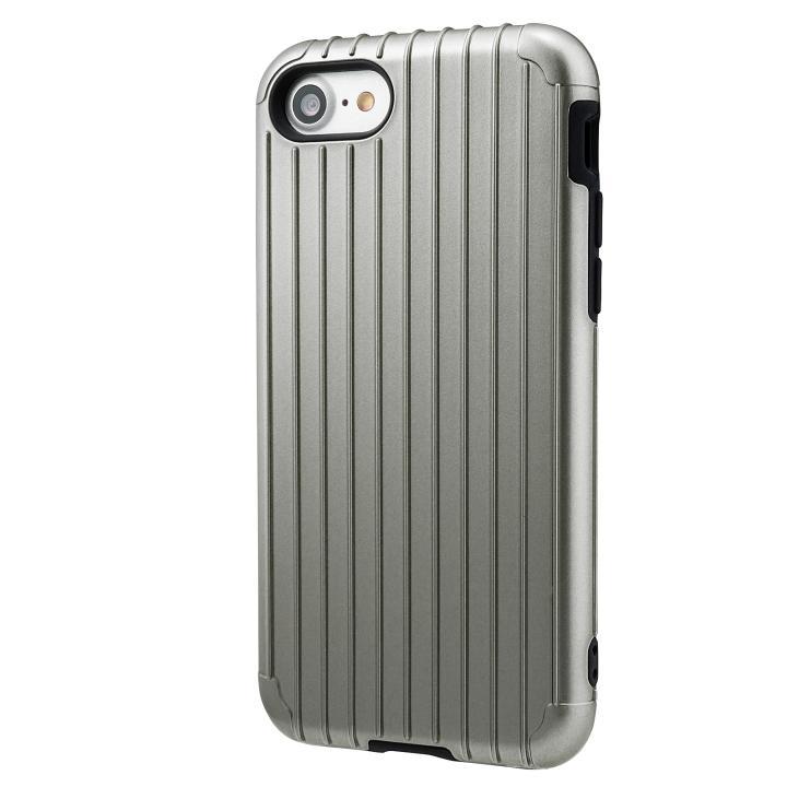 iPhone8/7 ケース GRAMAS COLORS Rib ハイブリッドケース グレイ iPhone SE 第2世代/8/7_0