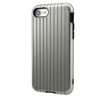 【iPhone8 ケース】GRAMAS COLORS Rib ハイブリッドケース グレイ iPhone 8/7