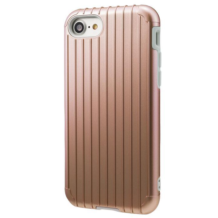 iPhone8/7 ケース GRAMAS COLORS Rib ハイブリッドケース ローズゴールド iPhone SE 第2世代/8/7_0