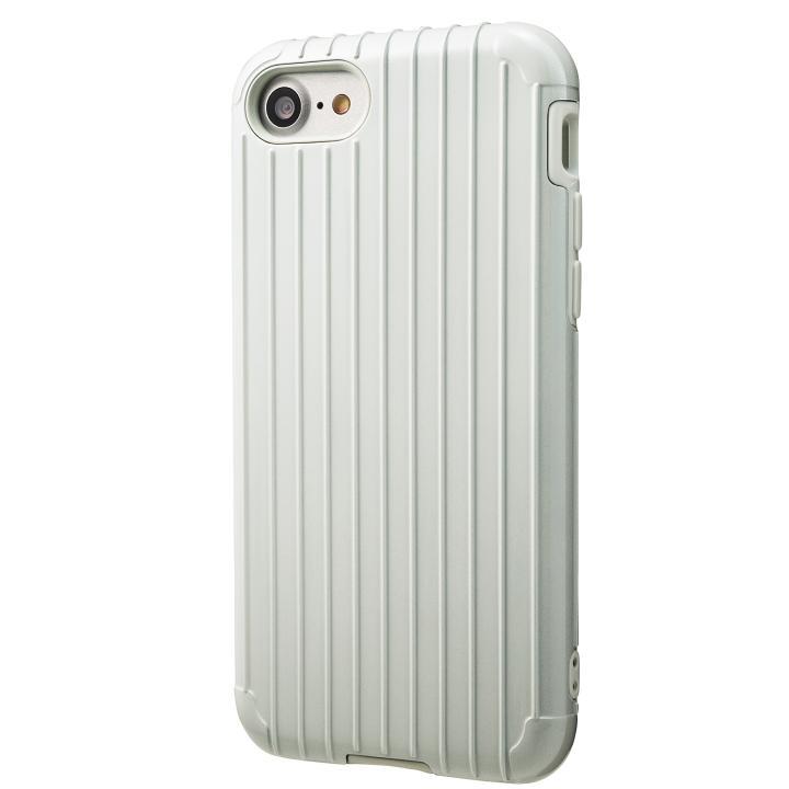 iPhone8/7 ケース GRAMAS COLORS Rib ハイブリッドケース ホワイト iPhone SE 第2世代/8/7_0