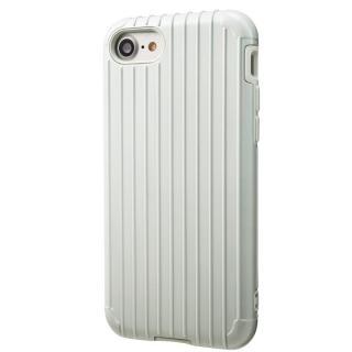 iPhone8/7 ケース GRAMAS COLORS Rib ハイブリッドケース ホワイト iPhone 8/7
