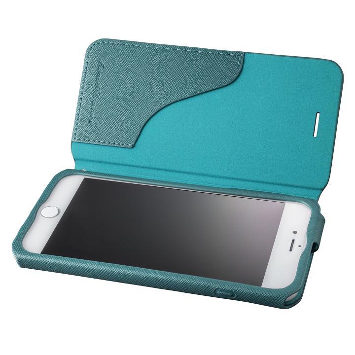 【iPhone8 Plus/7 Plusケース】GRAMAS COLORS PUレザー手帳型ケース EURO Passione グリーン iPhone 8 Plus/7 Plus_0