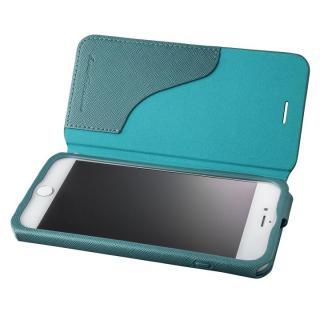 【iPhone8 Plus/7 Plusケース】GRAMAS COLORS PUレザー手帳型ケース EURO Passione グリーン iPhone 8 Plus/7 Plus