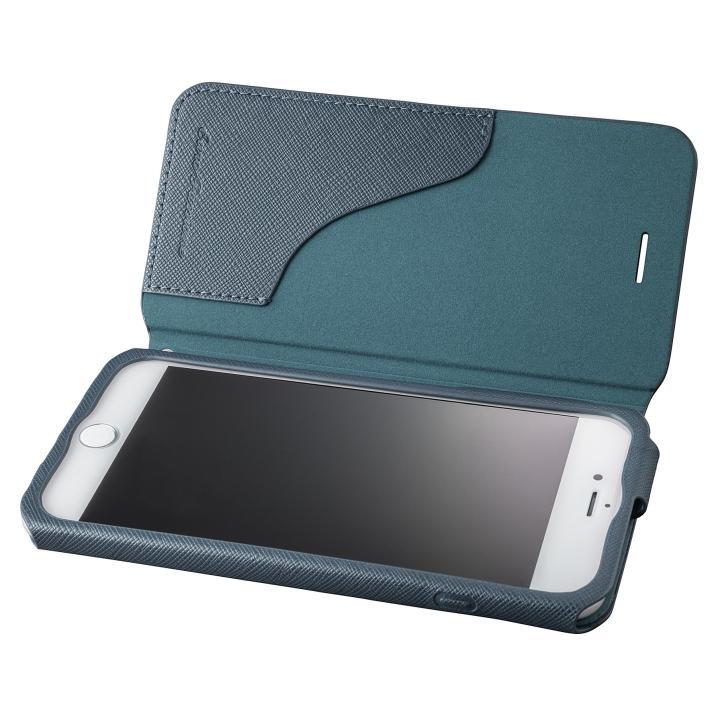 【iPhone8 Plus/7 Plusケース】GRAMAS COLORS PUレザー手帳型ケース EURO Passione ネイビー iPhone 8 Plus/7 Plus_0