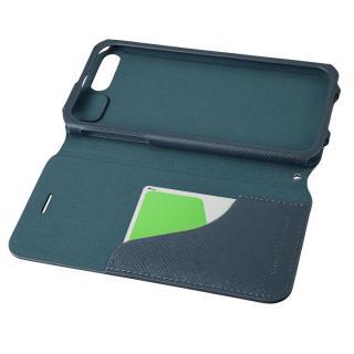 【iPhone8 Plus/7 Plusケース】GRAMAS COLORS PUレザー手帳型ケース EURO Passione ネイビー iPhone 8 Plus/7 Plus_2