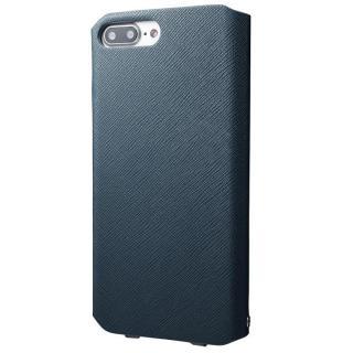 【iPhone8 Plus/7 Plusケース】GRAMAS COLORS PUレザー手帳型ケース EURO Passione ネイビー iPhone 8 Plus/7 Plus_3