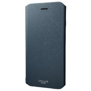 【iPhone8 Plus/7 Plusケース】GRAMAS COLORS PUレザー手帳型ケース EURO Passione ネイビー iPhone 8 Plus/7 Plus_5
