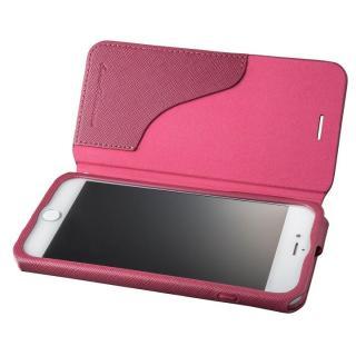 GRAMAS COLORS PUレザー手帳型ケース EURO Passione レッド iPhone 7 Plus