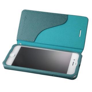 【iPhone7 ケース】GRAMAS COLORS PUレザー手帳型ケース EURO Passione グリーン iPhone 8/7