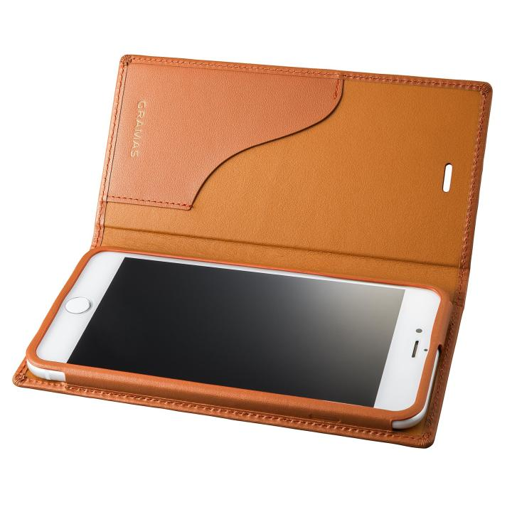 【iPhone8 Plus/7 Plusケース】GRAMAS フルレザー手帳型ケース  タン iPhone 8 Plus/7 Plus_0