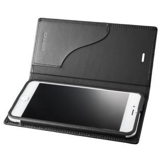 【iPhone8 Plus/7 Plusケース】GRAMAS フルレザー手帳型ケース  ブラック iPhone 8 Plus/7 Plus