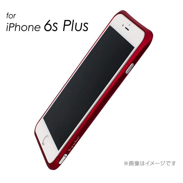 マックスむらいのレッドバンパー for iPhone 6s Plus