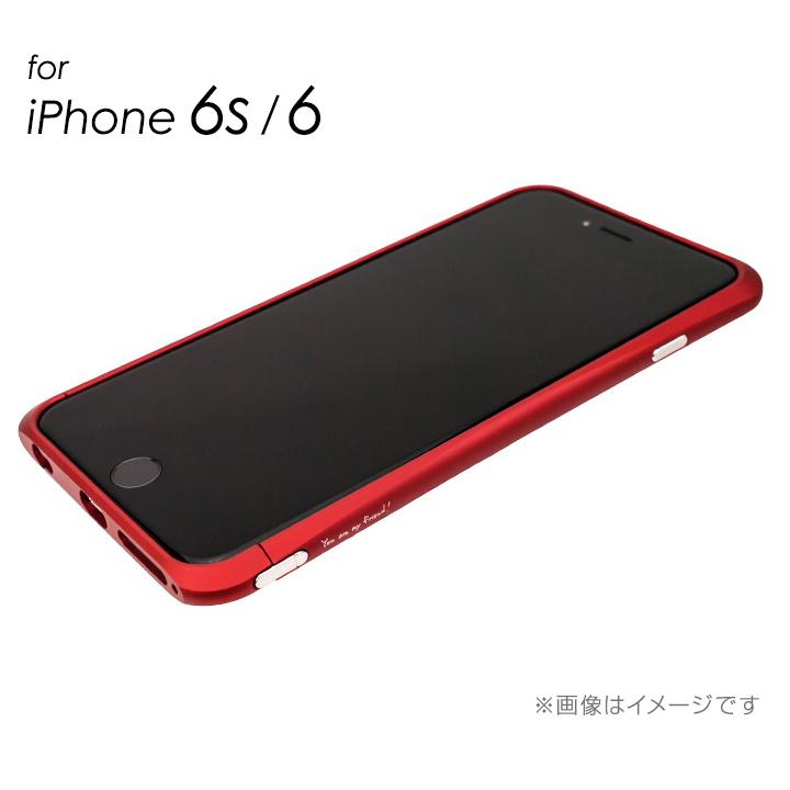 iPhone6s/6 ケース マックスむらいのレッドバンパー  iPhone 6s/6_0