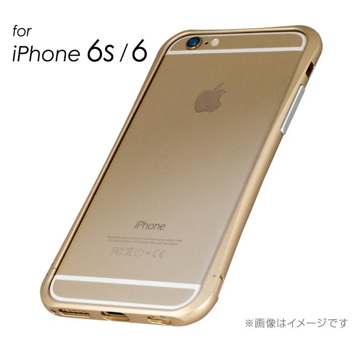 マミルトンのゴールドバンパー  iPhone 6s/6