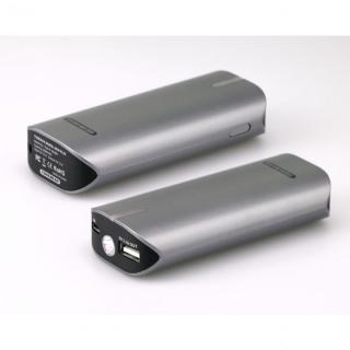 [6000mAh]モバイルバッテリーTUNEMAX BARREL 6000 Plus パールグレイ