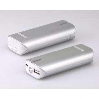 [6000mAh]モバイルバッテリーTUNEMAX BARREL 6000 Plus パールシルバー