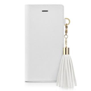 dreamplus タッセルジャケットケース ホワイト iPhone 7
