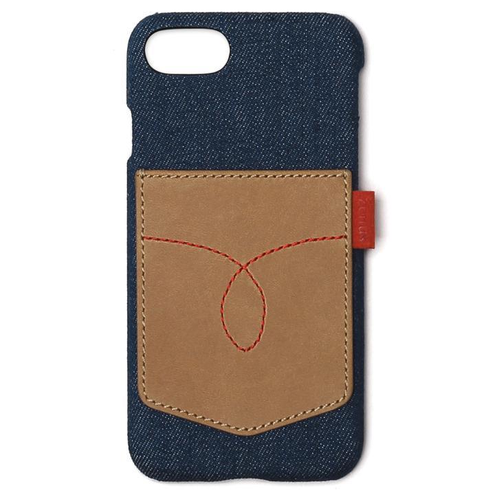 [新iPhone記念特価]ZENUS デニムビンテージポケットケース ケース iPhone 7