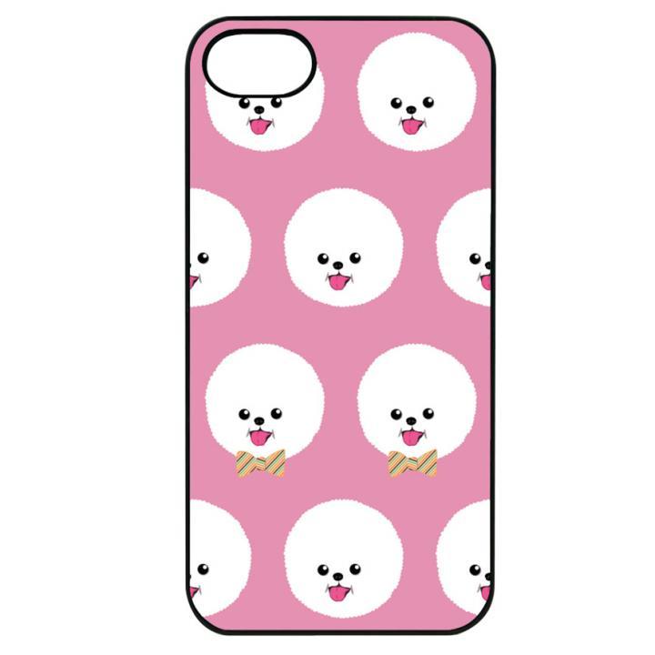【iPhone7ケース】Dparks ブラックケース ビションフリーゼ iPhone 7_0