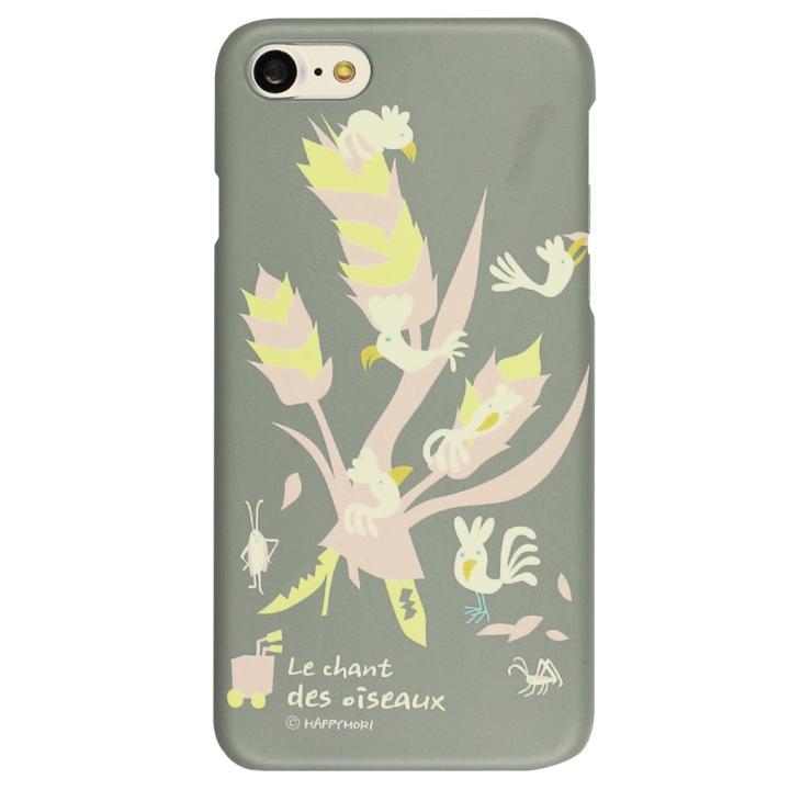 Happymori バードツリーケース グレー iPhone 7