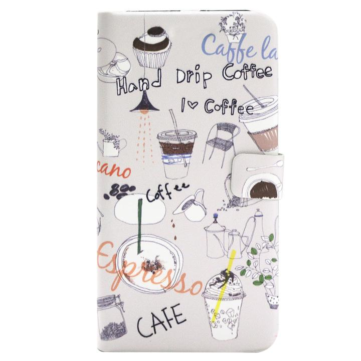 【iPhone7ケース】Happymori アメリカーノ手帳型ケース  iPhone 7_0