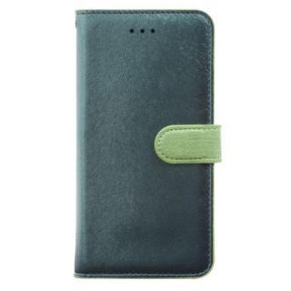 【iPhone7ケース】HANSMARE カーフ手帳型ケース フォレストグリーン iPhone 7