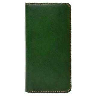 LAYBLOCK トスカーナレザー手帳型ケース グリーン iPhone 7
