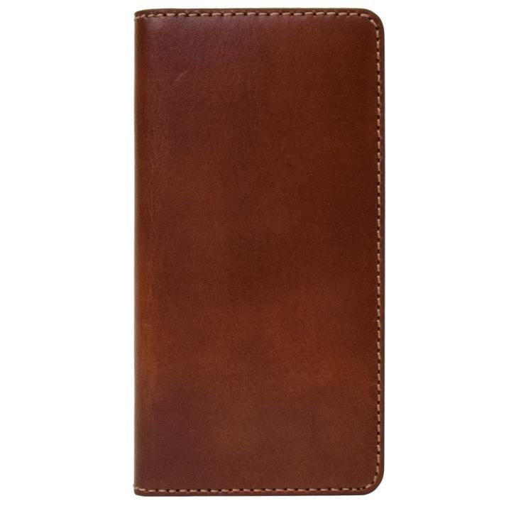 iPhone8/7 ケース LAYBLOCK Tuscany Belly トスカーナレザー手帳型ケース ブラウン iPhone 8/7_0