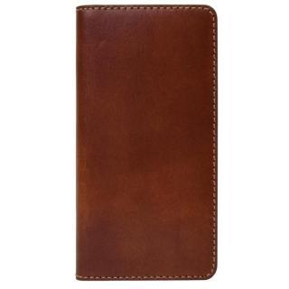 LAYBLOCK トスカーナレザー手帳型ケース ブラウン iPhone 7