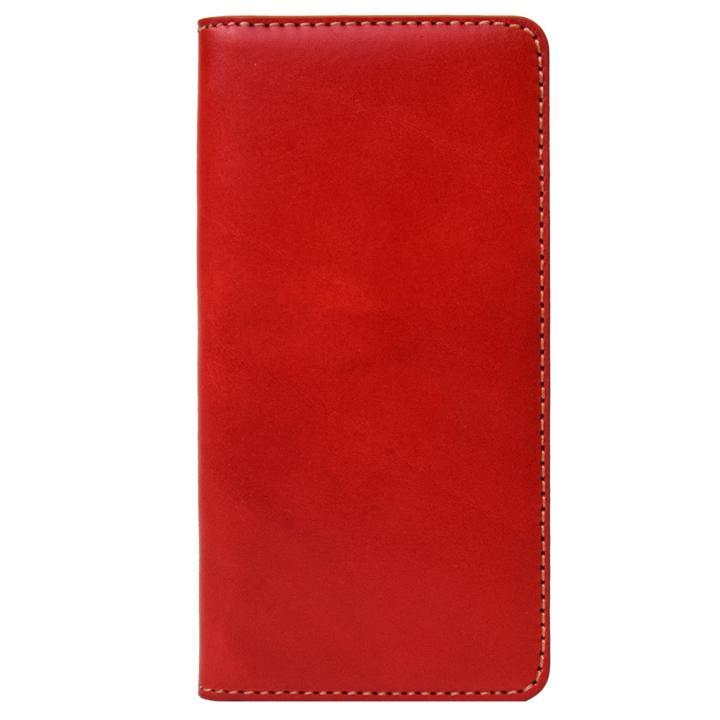 iPhone8/7 ケース LAYBLOCK Tuscany Belly トスカーナレザー手帳型ケース  レッド iPhone 8/7_0