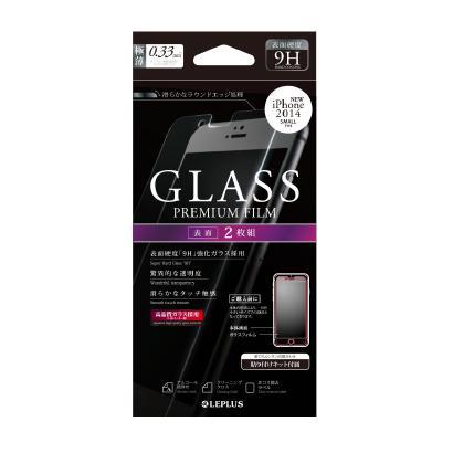 【iPhone6フィルム】液晶保護強化ガラス 通常(2枚組) iPhone 6強化ガラス_0