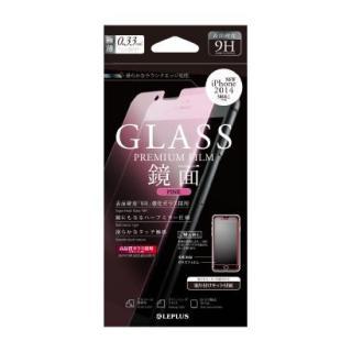 液晶保護強化ガラス ミラーピンク iPhone 6強化ガラス