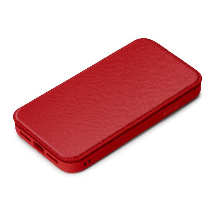 ガラスフリップケース レッド iPhone 13_0