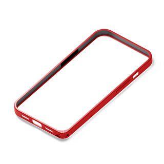 iPhone 13 Pro ケース アルミバンパー レッド iPhone 13 Pro