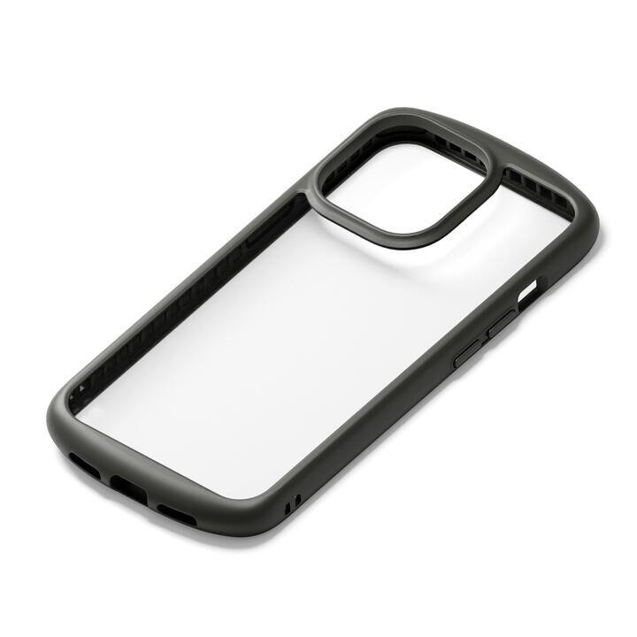 ガラスタフケース ラウンドタイプ ブラック iPhone 13 Pro Max【9月下旬】_0