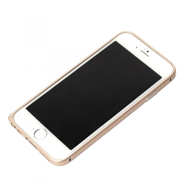 【iPhone6ケース】アルミバンパー ゴールド iPhone 6バンパー_0