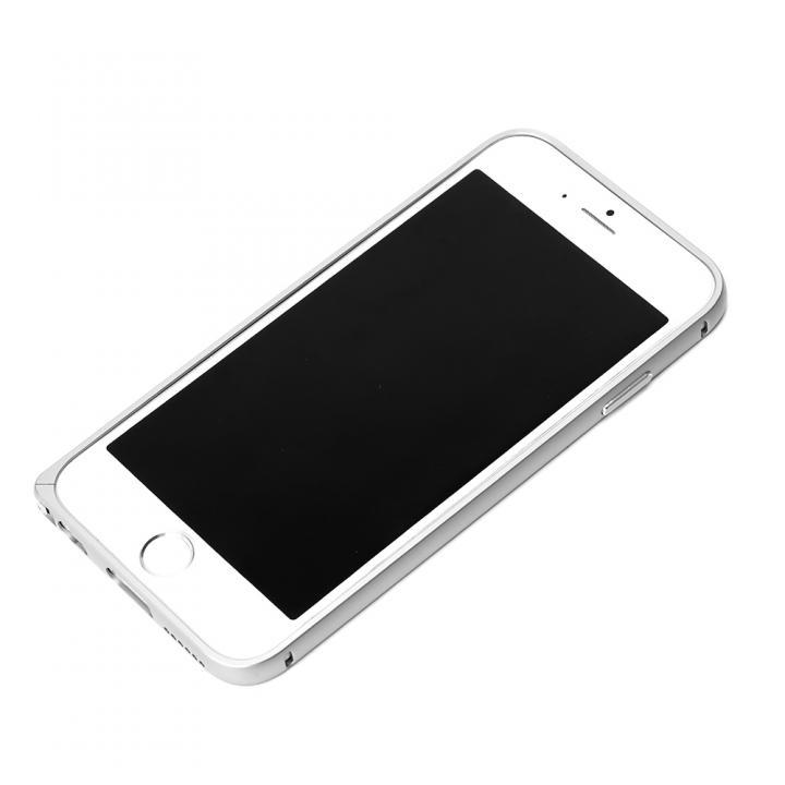 【iPhone6ケース】アルミバンパー シルバー iPhone 6バンパー_0