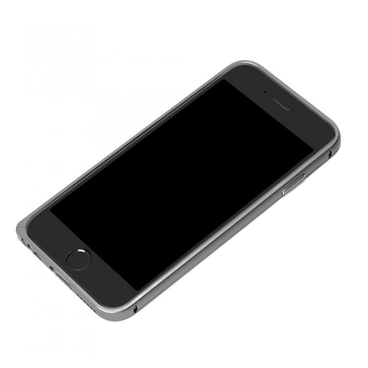 【iPhone6ケース】アルミバンパー ブラック iPhone 6バンパー_0