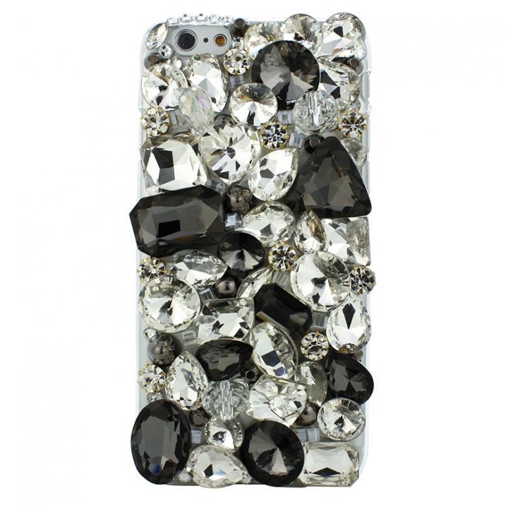 iPhone6 ケース ストーンデコレーションケース ガラス・クリスタル iPhone 6ケース_0