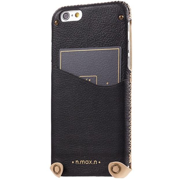 本革ケース Minimalist ブラック iPhone 6s