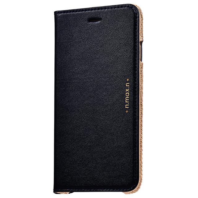 【iPhone6s/6ケース】本革手帳型ケース Slipcase ブラック iPhone 6s/6_0