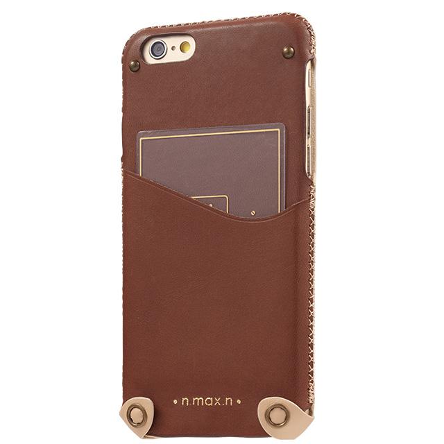iPhone6s/6 ケース 本革ケース Minimalist ブラウン iPhone 6s_0