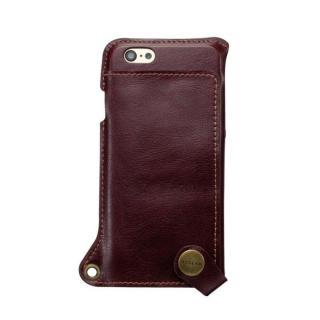 ビジネスシーンに大活躍 BZGLAM ウェアラブル 牛革ケース ブラウン iPhone 6s/6ケース