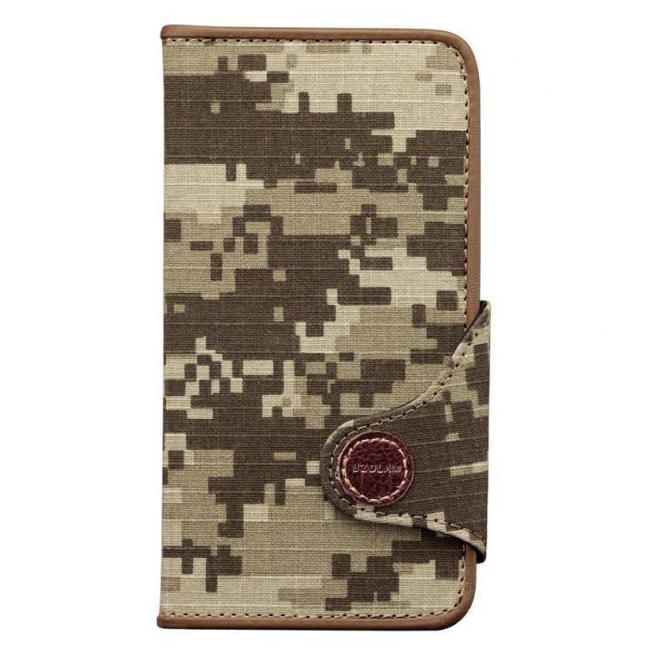 【iPhone6ケース】BZGLAM カモフラージュ 手帳型ケース デジタルカーキ iPhone 6ケース_0