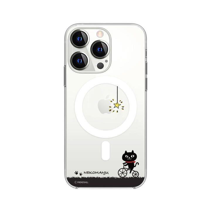 Magsafe対応ケース ネコマンジュウ サイクリング iPhone 13 Pro【10月上旬】_0