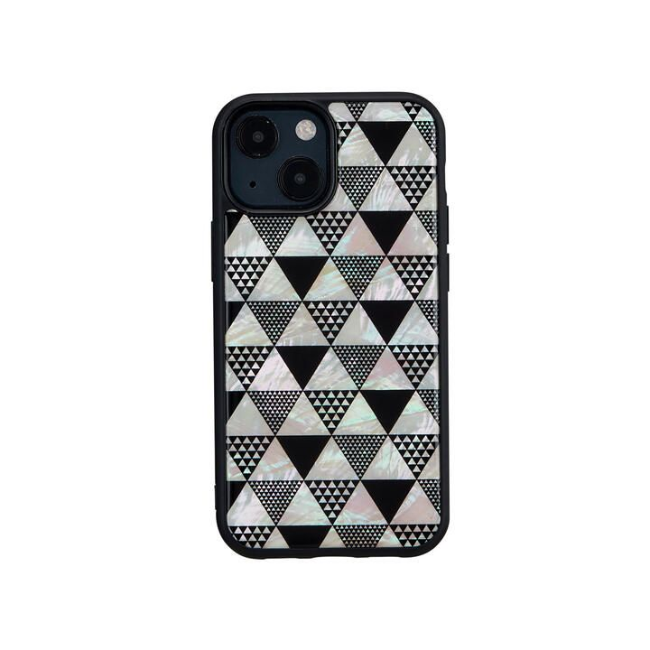 天然貝ケース Pyramid iPhone 13 mini【10月上旬】_0