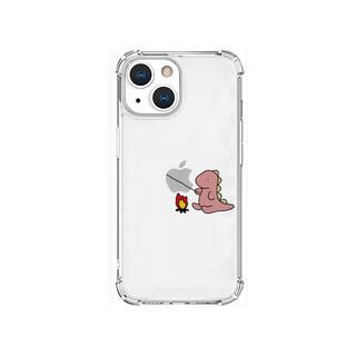 iPhone 13 mini (5.4インチ) ケース ソフトタフケース たき火 ピンク iPhone 13 mini【10月下旬】